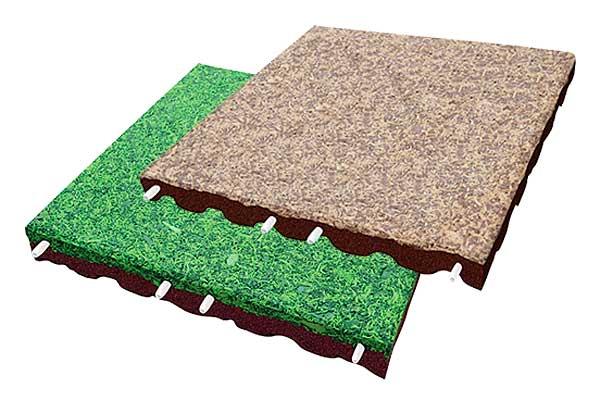 nouveau dalles amortissantes euroflex epdm paillis. Black Bedroom Furniture Sets. Home Design Ideas